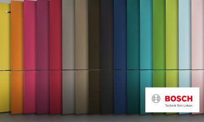 Bosch Kühlschrank Groß : Bosch vario style farbige fronten für ihren kühlschrank